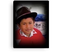 Cuenca Kids 416 Canvas Print