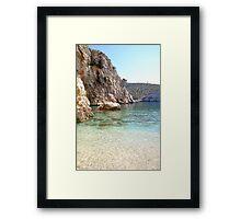 Bisevo Beach Framed Print