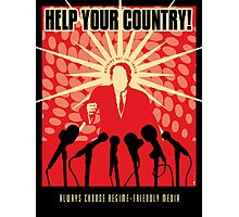 Help Your Country Photographic Print