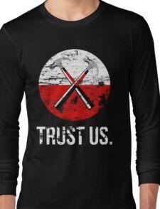 Pink Floyd TRUST US worn Long Sleeve T-Shirt