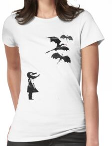 Dragons Will Be Dragons Womens Fitted T-Shirt