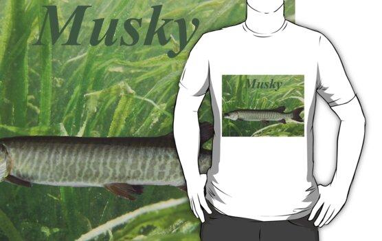MUSKY T-SHIRT by Thomas Murphy