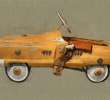 Roy Rogers Pedal Car by Michelle Calkins