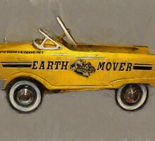 Earth Mover Pedal Car by Michelle Calkins
