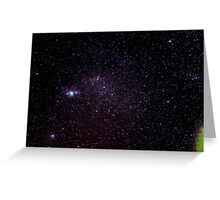Orion, The Hunter Greeting Card