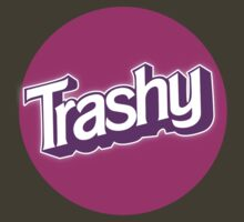 Barbie Inspired 'Trashy' T-shirt by zombieconchord