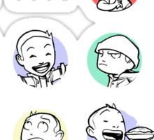 Sincerity is cool Sticker