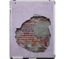 Hole in the wall 1 iPad Case/Skin