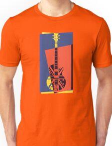 Pop Art British Flag Guitar Unisex T-Shirt