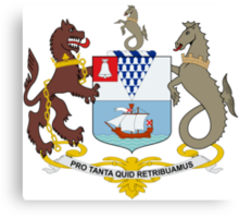 Coat of Arms of Belfast  Canvas Print