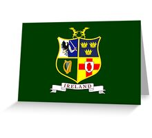 Flag of Ireland National Field Hockey Team Greeting Card