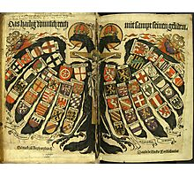Coat of Arms of the Holy Roman Empire Photographic Print