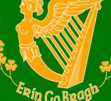 Erin Go Bragh Banner  Sticker