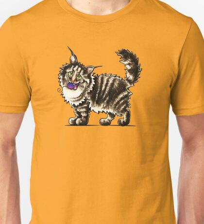 Maine Coon Tabby Gentle Giant Unisex T-Shirt