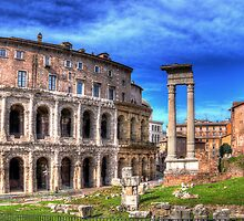 Temple of Apollo Sosianus by vivsworld