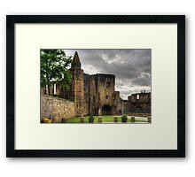 The Ruined Gatehouse Framed Print