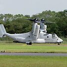 USMC MV-22B Osprey by Barrie Woodward