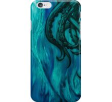 Cthulhu Dreaming in Blue iPhone Case/Skin