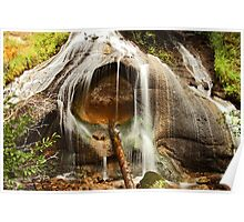 Our Waterfall: Eastern Sierra, Fall, 2011 Poster