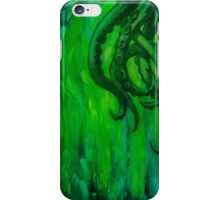 Cthulhu Dreaming in Green iPhone Case/Skin