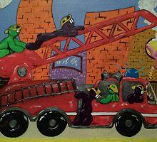 Fire Engine by LIghtSpeedArts