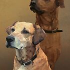 Ridgebacks by Carl Conway