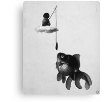 wrong bait Canvas Print