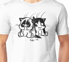 Grumpy Cat and Pooky 03 Unisex T-Shirt