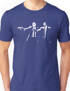 Pulp Fiction Neil deGrasse Tyson and Carl Sagan. Unisex T-Shirt