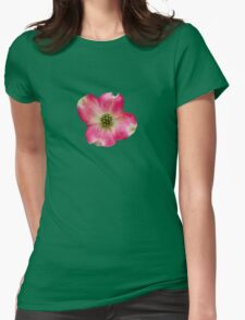 Pink in Macro Womens Fitted T-Shirt