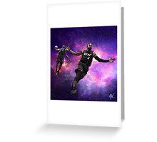 Intergalactic Heat Greeting Card