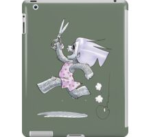 Castela with Scissors iPad Case/Skin