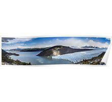 Glacier Grey, Torres Del Paine Poster