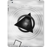 Point To The Moon iPad Case/Skin