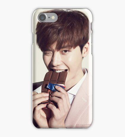 Cute Lee Jong Suk iPhone Case/Skin