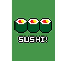 8-Bit Sushi Photographic Print