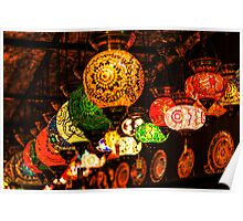 Decoration Lamps Poster
