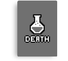 Potion - Death Canvas Print