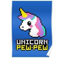 Unicorn Pew-Pew! Poster