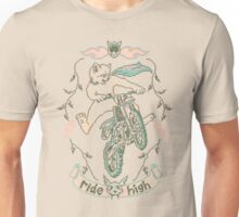 Motocross-Stitch Kitteh Unisex T-Shirt