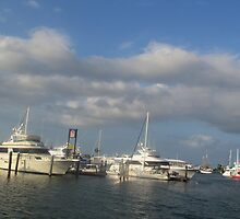 Key West Boats 2 by GleaPhotography