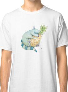 Raccoon & Pineapple Classic T-Shirt