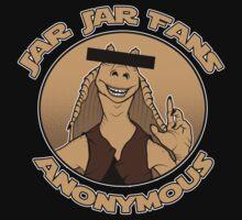 Jar Jar Fans Anonymous 2 by spazzynewton