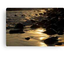 The Golden Glow Of Sunrise Canvas Print