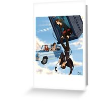 Doctor Who meets Harry Potter Greeting Card