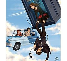 Doctor Who meets Harry Potter Photographic Print