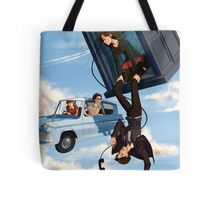 Doctor Who meets Harry Potter Tote Bag