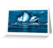 Opera House at night  Greeting Card