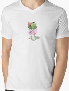 Pokemon Doodles - Ralts Mens V-Neck T-Shirt