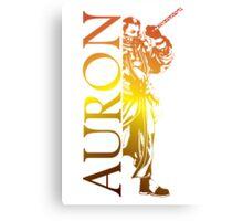Auron - Final Fantasy X Canvas Print